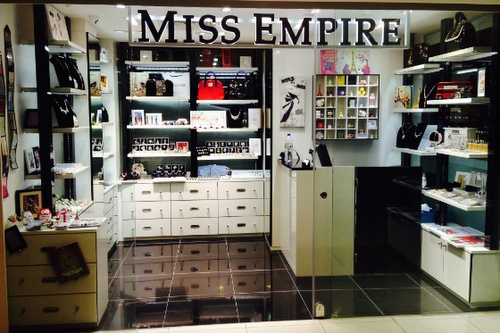 Miss Empire accessory store Plaza Singapura Singapore.