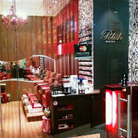 Polish The Nails Room salon Novena Square 2 Singapore.