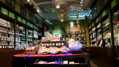Salo aromatherapy shop Singapore.