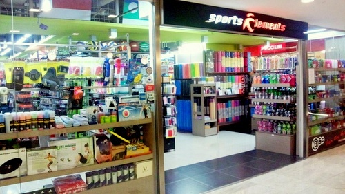Sports Elements store Square 2 Singapore.