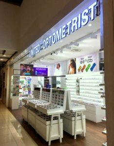 United Optometrist optical store Novena Square 2 Singapore.
