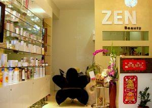 Zen Beauty salon Novena Square 2 Singapore.