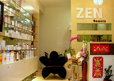 Zen Beauty salon Novena Square 2 Singapore.