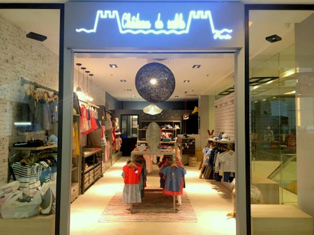 Château de Sable children's clothing store United Square Singapore.