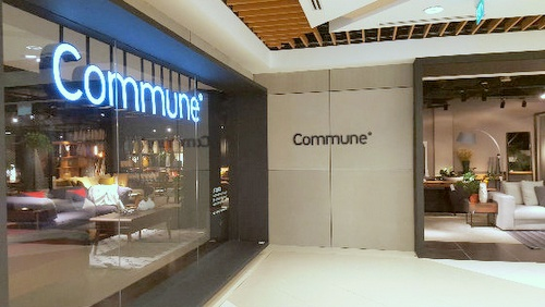 Commune furniture store IMM Building Singapore.