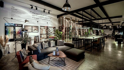 Commune furniture store Singapore.