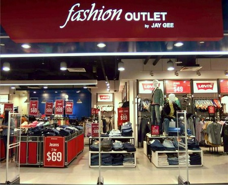 Fashion Outlet by Jay Gee IMM Singapore.