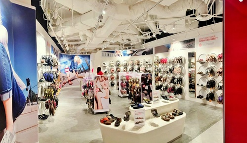 FitFlop shoe shop IMM Singapore.