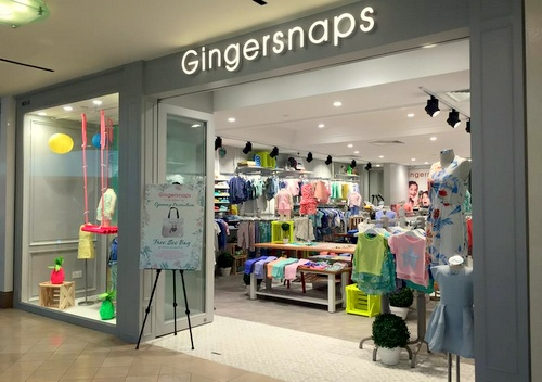 Gingersnaps children's clothing store Raffles City Shopping Centre Singapore.