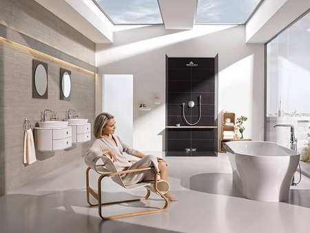 GROHE bathroom products Singapore.