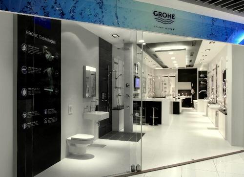 GROHE store IMM Singapore.