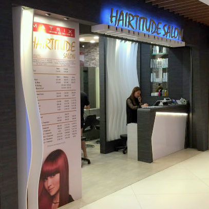 Hairtitude Salon Singapore.