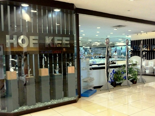 Hoe Kee bathroom & kitchen supply store IMM Singapore.