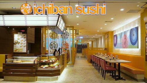 Ichiban Sushi restaurant Singapore.