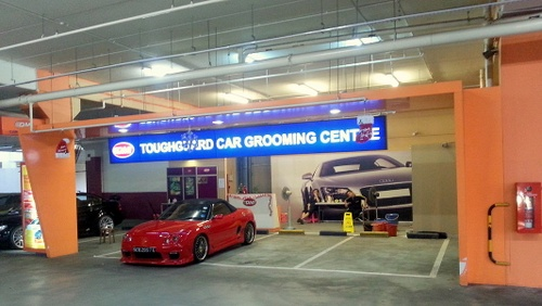QMI ToughGuard Car Grooming Centre IMM Singapore.