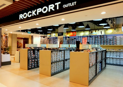 Rockport Factory Outlet shoe store IMM Singapore.