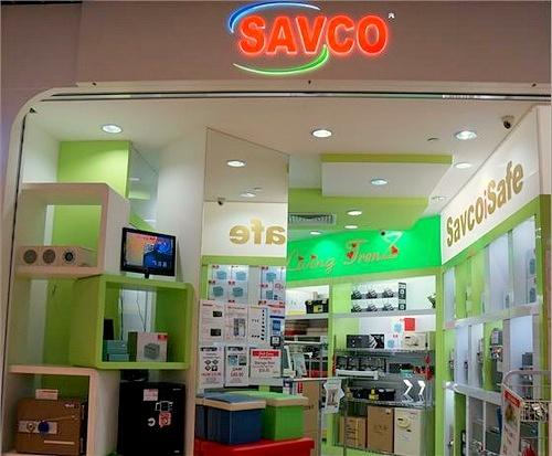 SAVCO store IMM Singapore.