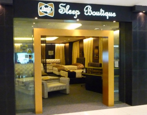 Sealy Sleep Boutique mattress store IMM Singapore.