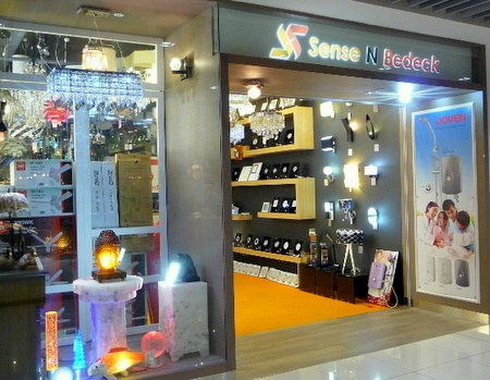 Sense N Bedeck home furnishing store IMM Singapore.
