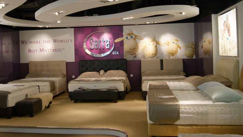 Serta mattress store IMM Singapore.