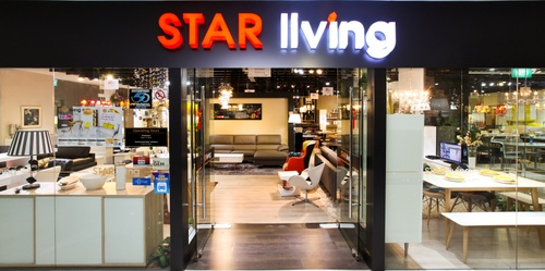 Star Living furniture store The Furniture Mall Singapore.