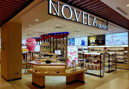 Novela beauty store Singapore.