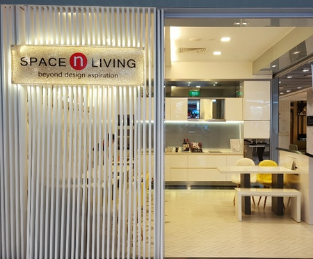 Space N Living interior design IMM Singapore.