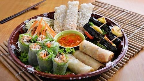 The Orange Lantern Vietnamese food Hong Kong.