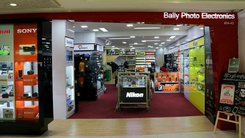 Bally Photo Electronics store Plaza Singapura Singapore.