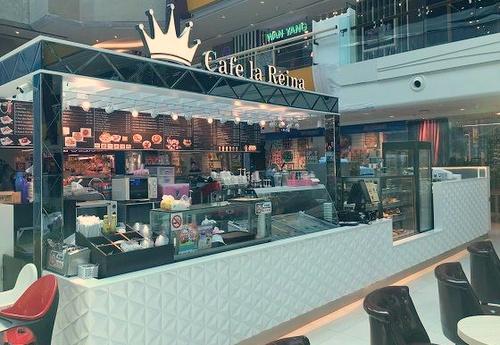 Café La Reina Plaza Singapura Singapore.