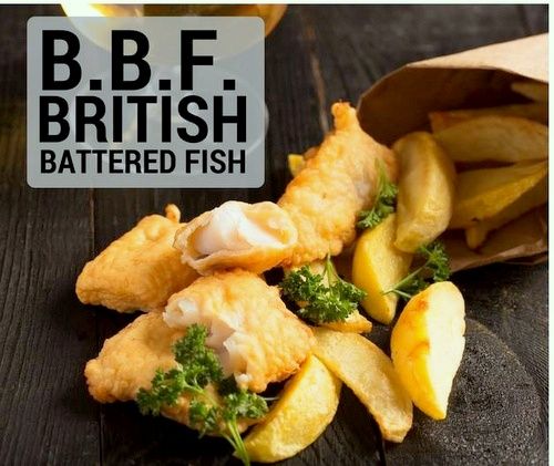 Chippy British Battered Fish meal Singapore.