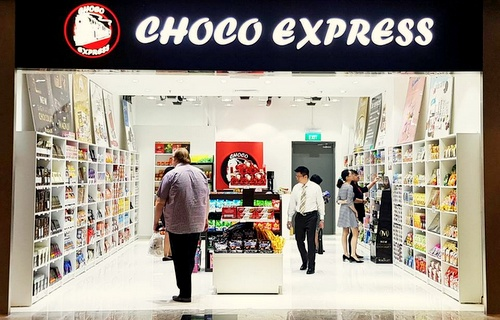 Choco Express candy store Tanjong Pagar Centre Singapore.
