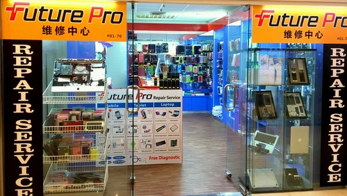Future Pro mobile accessories and mobile repair shop International Plaza Singapore.