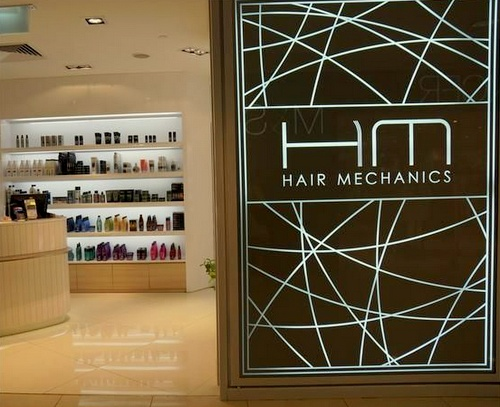 Hair Mechanics hair salon Singapore.