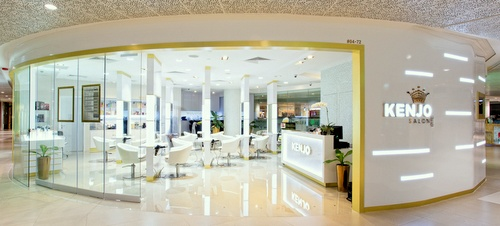 Kenjo Korean Hair Salon Plaza Singapura Singapore.
