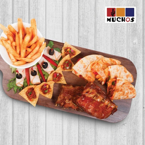 Mexican Pork Ribs Sharing Platter at Muchos Mexican Restaurant Singapore.