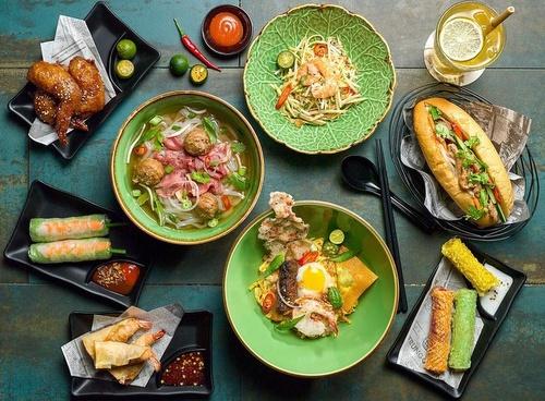 NamNam Noodle Bar Vietnamese restaurant meals Singapore.