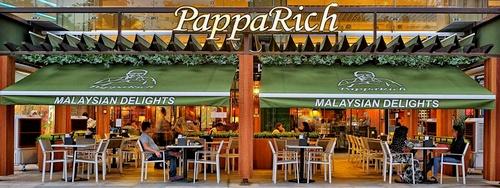 PappaRich Malaysian cafe-restaurant Plaza Singapura Singapore.