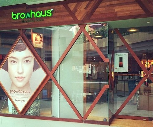 Browhaus - The Brow Salon at Westgate mall in Singapore.