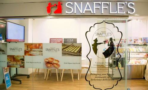 Snaffle's bakery shop at Tanjong Pagar - International Plaza in Singapore.