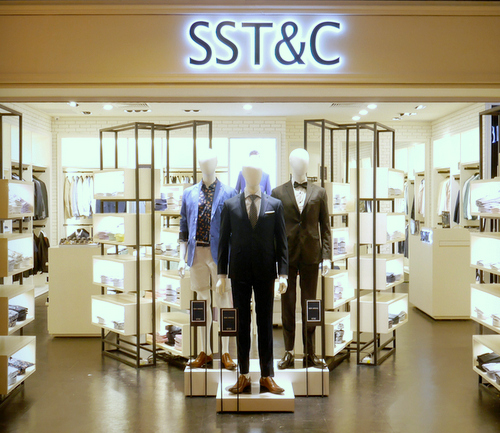 SST&C clothing store at Marina Square in Singapore.