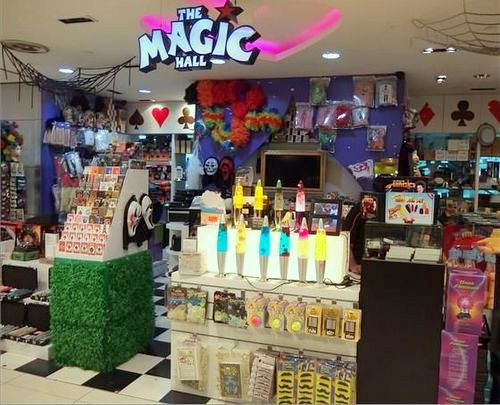 The Magic Hall store at Plaza Singapura in Singapore.