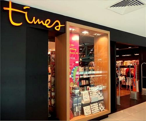 Times Bookstore at Plaza Singapura mall in Singapore.