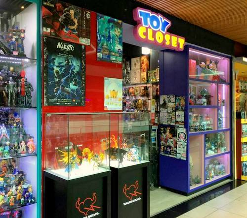 Toy Closet collectibles shop at Plaza Singapura in Singapore.