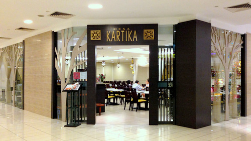 Desa Kartika Indonesian restaurant at The Centrepoint mall in Singapore.