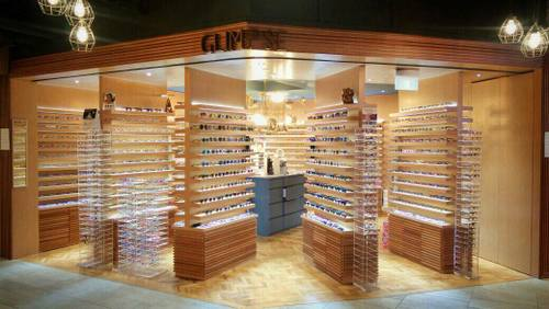 Glimpse optical store in Singapore.