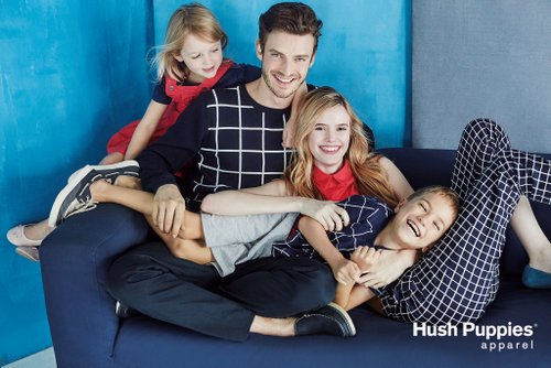 Hush Puppies Apparel clothing, available in Singapore.