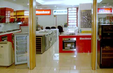 Quality Home Appliances store at The Centrepoint mall in Singapore.