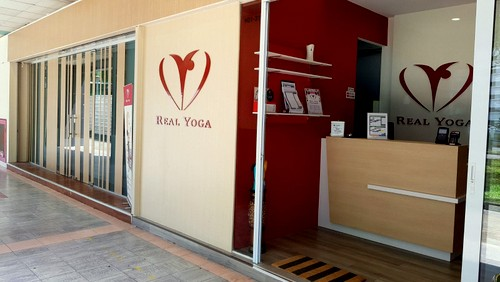 Real Yoga studio at Jurong Gateway in Singapore.