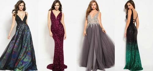 Satine Boutique gowns, available in Singapore.